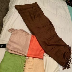 Ladies Scarfs. New still with tags.